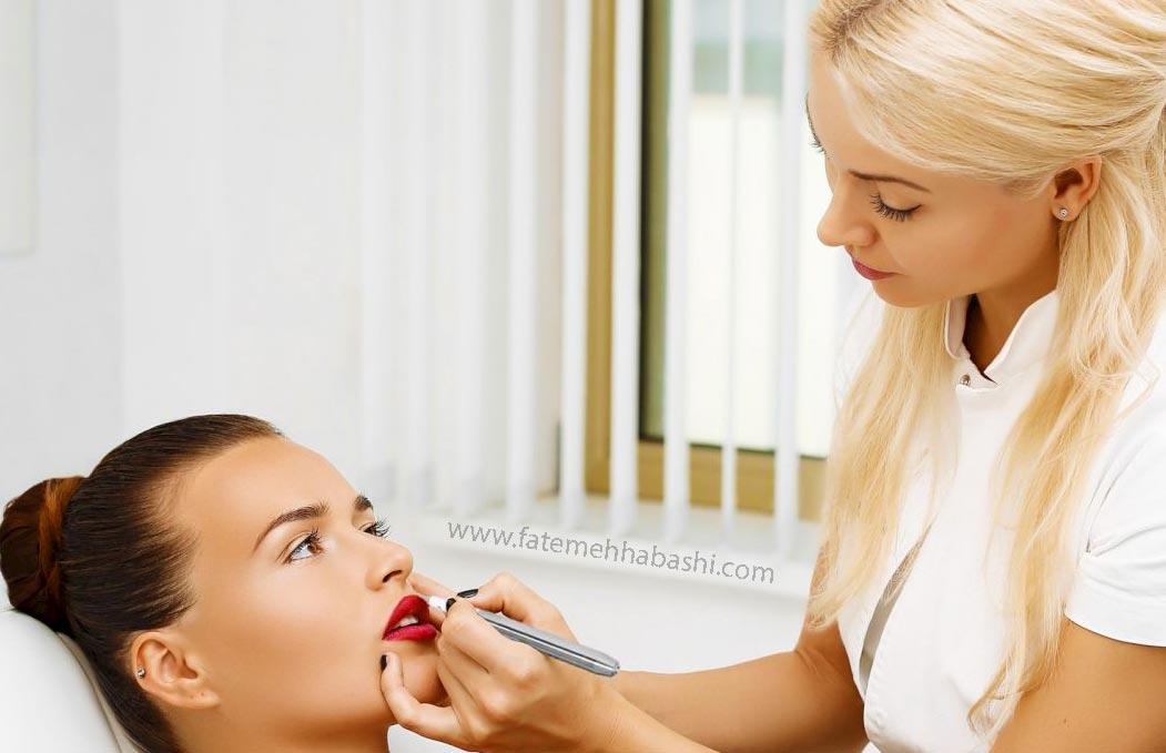 آموزش آرایشگری در بهترین آموزشگاه آرایشگری زنانه غرب تهران ستارخان توسط فاطمه حبشی در سالن زیبایی لی لی