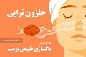 حلزون تراپی و تاثیر آن در پاکسازی طبیعی پوست | فاطمه حبشی (fatemehhabashi.com)